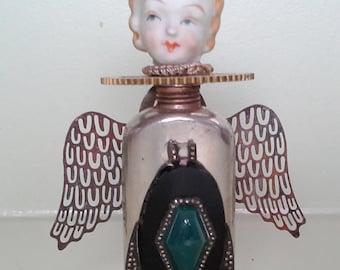 OOAK Steampunk Angel Assemblage