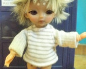 Grey Shirt striped body for Hujoo Baby