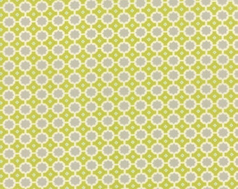 SALE - Miss Kate - Sunshine in Apple Green: sku 55095-13 cotton quilting fabric by Bonnie and Camille for Moda Fabrics - 1 yard