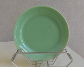 Vintage Bauer Light Green Plate - Royal Hill Vintage