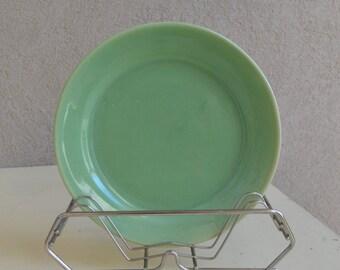 Vintage Bauer Light Green Plate - Royal Hill Vintage