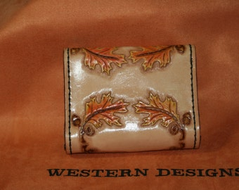 Hand Tooled Card Case