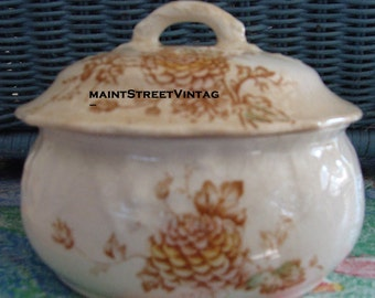 Rare Wheeling Pottery LaBelle Covered Bowl 3 Piece Set