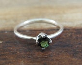 Union Avenue Ring - Tourmaline and Sterling Silver Ring