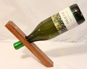 Oak Wine Holder, Buffalo Nickel, Office Gifts