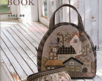 Miyamoto Kuniko - Country Style Patchwork Japanese Craft Book