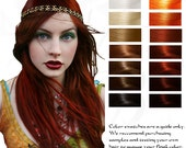 Enyo: War Goddess Ruby Red Hair Color and Conditioner 100G