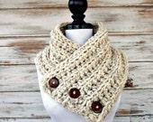 Instant Download Crochet PATTERN PDF - Crochet Cowl Scarf - Wellington Cowl Scarf Chunky Scarf - Ribbed Cowl Pattern Ribbed Scarf Pattern