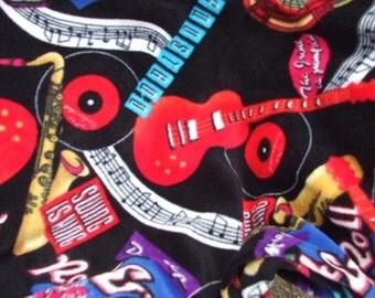 Blanket - Polarfleece - Throw - Afghan - Rock and Roll