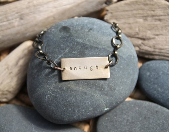 custom personalized soul mantra bracelet . rectangle