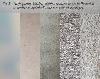 Textures for Photographers - use in Photoshop JPG files.  Mid Tone Mix grungy rough textured photos.  4000px instant download