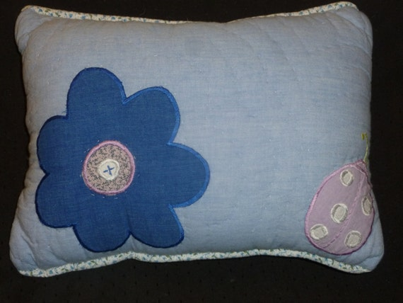 Girls Accent Pillow Made With Pottery Barn Kids By GoMamaGo