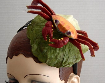 Diego The Crab Headpiece Fascinator