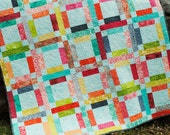 QUILT PATTERN....One Jelly Roll, EASY and Quick, Grandma Mary's Five Patch