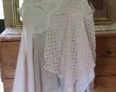 Boho,lagenlook,romantic lace top - Karooart