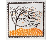 This Is How You Make Me Feel, Ceramic Tile (Brown/Orange)