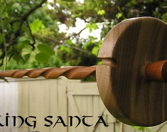 Viking Santa Drop Spindle LG 0636e