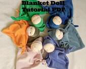 Waldorf doll making Waldorf doll germandolls doll tutorial blanket baby PDF file doll making doll pattern doll how to make doll