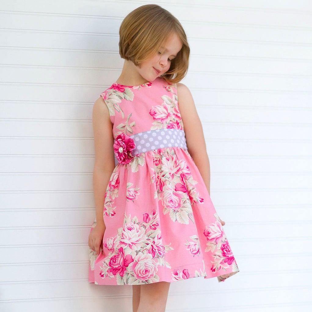 Girls Dress Pattern Perfect Party Dress Classic Girls