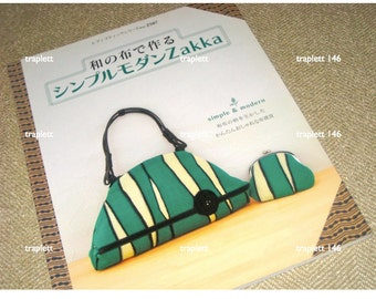 Japanese Sewing Pattern Book Simple and Modern  Zakka