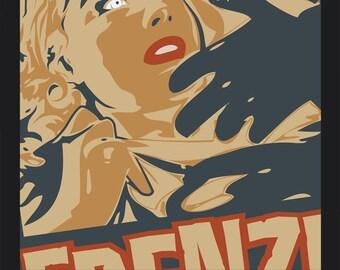 "Frenzy Zombie - large print - 18"" 20"""
