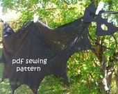 Wings: bird, bat, and fairy - PDF sewing pattern