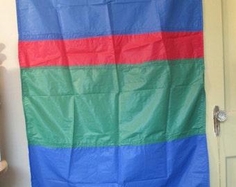 Blue Nylon handmade Medieval Flag or Banner