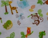 Jungle Fun Baby Blanket