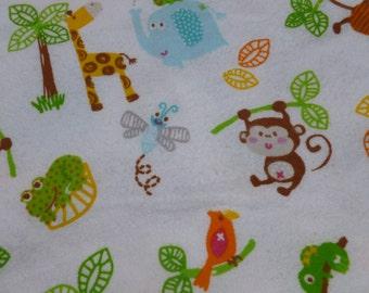Jungle Fun Baby Blanket