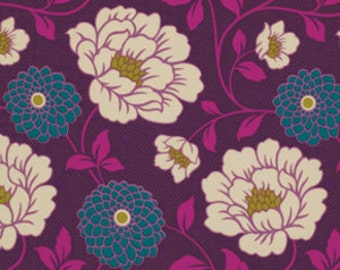 Joel Dewberry Fabric  PWJD069 Dahlia Lavendar Luxe by the yard Bungalow