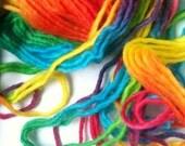 Rainbow Handspun Handpainted Yarn