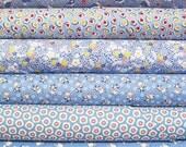 1930's Reproduction Feedsack Fabric Fat Quarter Bundle - Choose your Color