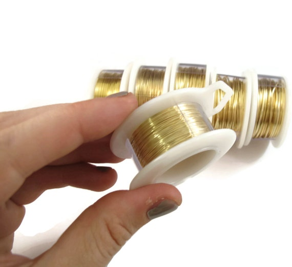 Gold Plated Wire 22 Gauge Round Wire For Making Jewlery