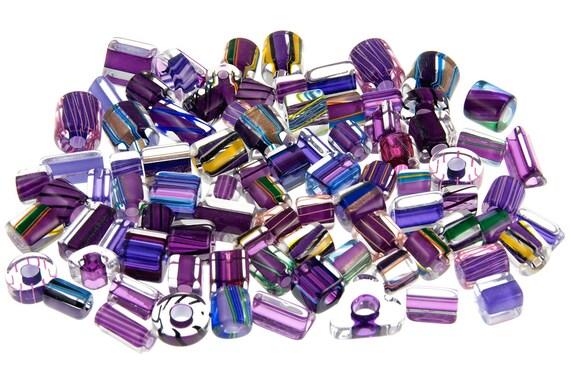 Pinnacle Beads Mix M139 Purple Passion Variety - 1oz David Christensen Glass Beads