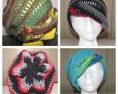 Funky Fall Cloche - Special Order- Choose your colors