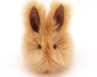 Stuffed Animal Stuffed Bunny Cute Plush Toy Bunny Kawaii Plushie Honey Bunny the Snuggly Cuddly Faux Fur Toy Rabbit Medium 5x8 Inches