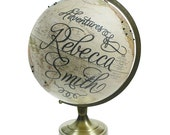 Custom Adventures Pushpin Globe