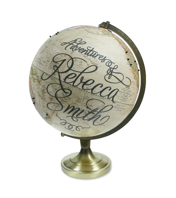 Custom Adventures Pushpin Globe