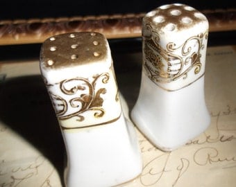 Porcelain Japan Salt and Pepper Shakers