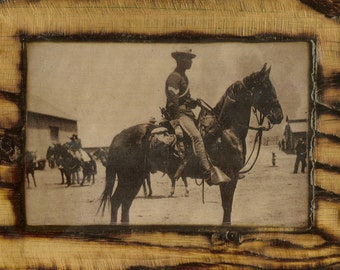 Buffalo Soldier - Wooden Plaque