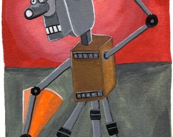 16mm Robot