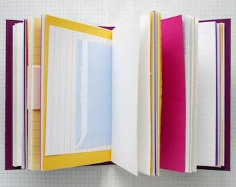 """Travel Journal - Butterflies And Hurricanes 4.5 x 6"""" A6 - Mixed Paper Journal"""
