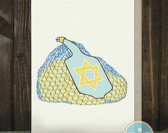 Gelt and Latkes BOXED SET -- Hanukkah Cards from The Nic Studio