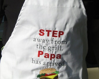 BBQ Chef Apron Personalized FREE Choose your image and saying