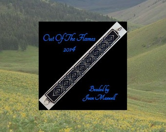 Bead PATTERN Holatte Cuff Bracelet Loom  or Square Stitch