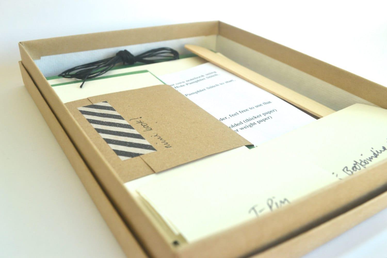Diy Soft Cover Book Binding : Diy bookbinding kit make basic soft cover notebooks plus