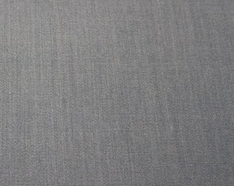 SALE - Cotton/Poly Blend Blue Fabric - 1 5/8 - Remnant