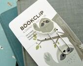 Sloth Bookmark (Bookclip)