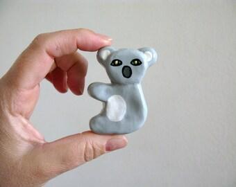 Koala - dresser drawer knob for kids room