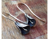 Sterling Silver Calla Lilly Earrings
